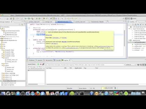 Android Development Course - Chapter 6 - TwoActivities