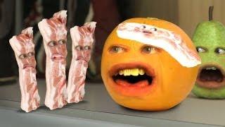 Video Annoying Orange - Bacon Invaders (ft. Harley from EpicMealTime) MP3, 3GP, MP4, WEBM, AVI, FLV Januari 2018