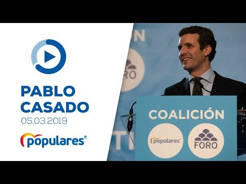 Pablo Casado firma con Foro Asturias un acuerdo para las próximas elecciones generales