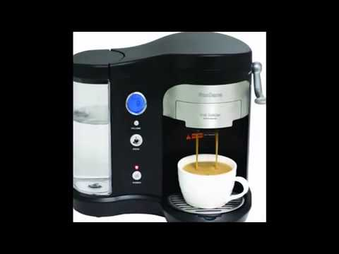 Coffee Maker Review 2014 – Suncana H701A BLK Pod Brewer