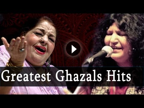 Ghazal - Enjoy this collection of hit Ghazals from the album Greatest Ghazal Hits Part 1, featuring tracks like Aaj Jaane Ki Zid, Dil Jalaane Ki Baat, Mere Humnafas M...
