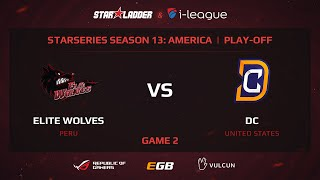 Elite Wolves vs DC, game 2