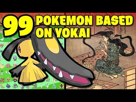 ALL Pokemon Based on Yokai and Japanese Folklore
