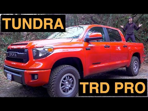 2015 Toyota Tundra TRD Pro – Review & Test Drive