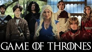 "The Houses of Westeros sing their hearts out in this ""Game of Thrones"" music video parody! More Warp Zone Music Videos!"