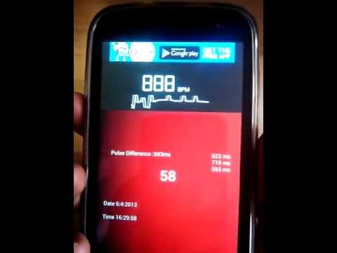 Video of Precise Heart Rate