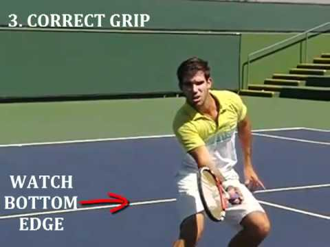 Tennis Volley In Slow Motion – 3 Tips To Help You Volley Like Federer, Rafter & Sampras