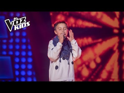 Juanse canta Coleccionista de Canciones - Rescates | La Voz Kids Colombia 2018
