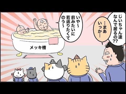 猫家族との出会い(メッキ後処理編)マンガでわかるFAQ第8話