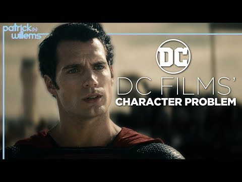 DC Films' Character Problem (video essay)
