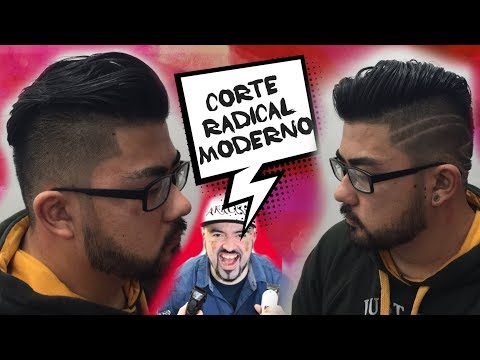 Corte de cabelo radical e moderno Luciano Akross