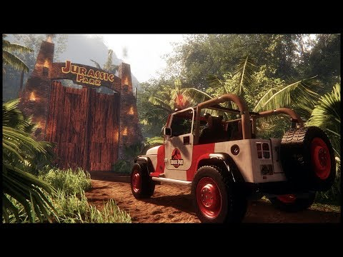 A Tour of Jurassic Park - THIS is the Jurassic Park Game That Everyone Wanted! - Jurassic Park Dream