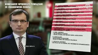 Skandal! Co dziesiąty z komisarzy wyborczych jest powiązany z ministrem sprawiedliwości Zbigniewem Ziobro !