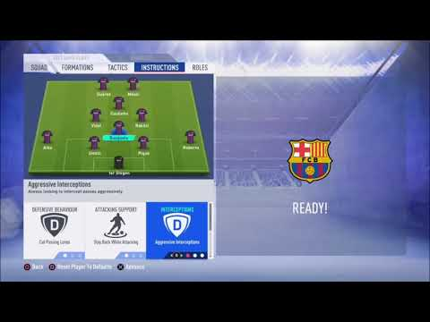 FIFA 19 FC Barcelona Review - Best Formation, Best Tactics And Instructions