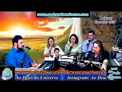 Culto no Lar - Sala de Oração - Igreja Ao Deus do Universo