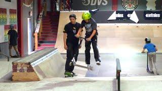 SKATER VS. SCOOTER KID