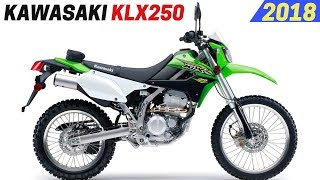 8. NEW 2018 Kawasaki KLX250 - Better Performance and Fuel Efficient