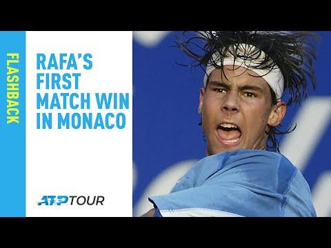 Relive Rafa's First Monte-Carlo Match Win