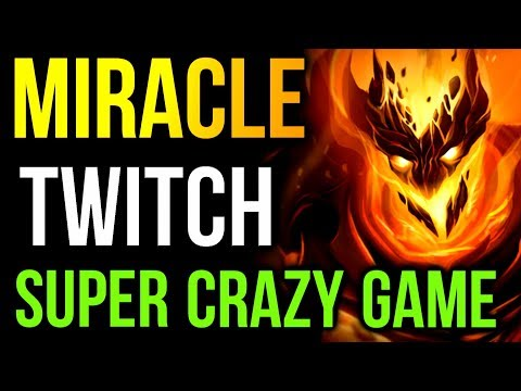 SUPER CRAZY GAME! Miracle- Shadow Fiend Twitch Stream Dota2
