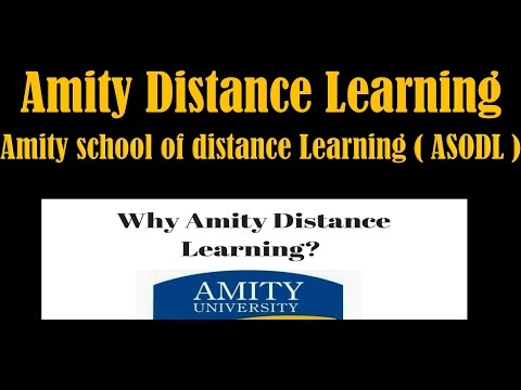 Amity Distance Learning