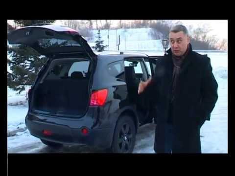 Nissan Qashqai+2 NISSAN QASHQAI + 2 - тест Александром Михельсоном