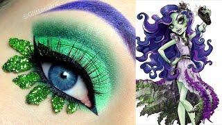 Monster High's Amanita Nightshade Makeup Tutorial - YouTube
