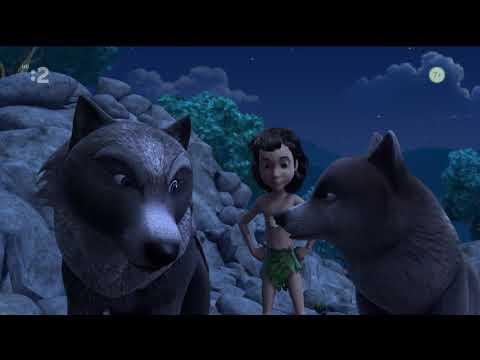 Kniha džunglí Šakal na strane vlkov