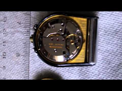LECOULTRE TRAVEL ALARM WATCH