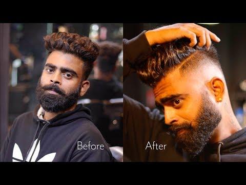 Mens hairstyles - Men's Hair style I Beard Style I Vinitas Periyar