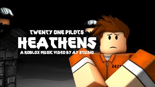 Twenty One Pilots - Heathens [Official Roblox Music Video]