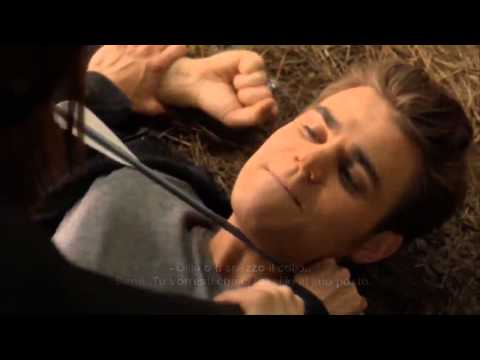 The Vampire Diaries Season 4   Stefan   Elena in the woods  deleted scene   sub ita  hd720