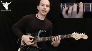 SGL : Timing Exercise 5 - praktijkvoorbeeld accenten op gitaarritme (Gitaarles TE-005)
