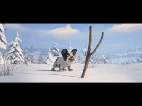 Снежные гонки - тизер
