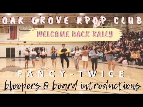2019 Oak Grove Kpop Club Welcome Back Rally + Bloopers and Board Introductions