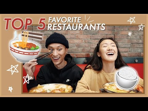Our TOP 5 Favorite Restaurants in 626 | WahlieTV EP634