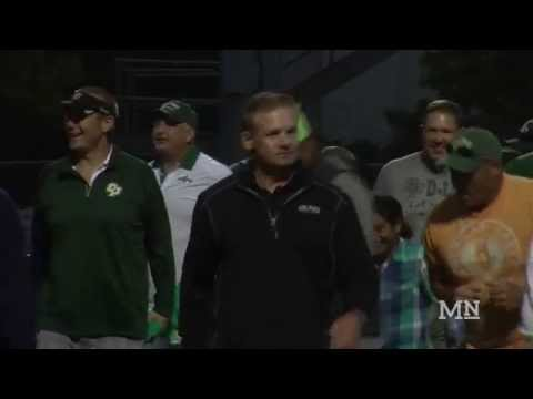 1990 Cal Poly Football Team Honored