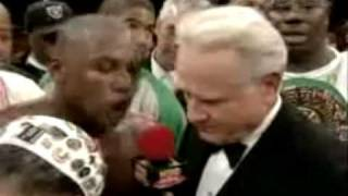 Mechant asks Mayweather why he is boring