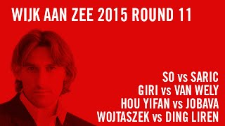 Wijk aan Zee 2015 Round 11 Highlights