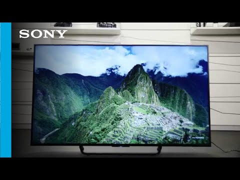 """Unboxing The New 65"""" Sony Android TV (4K Ultra HD)"""