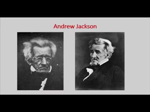 Evenings Upstairs - Andrew Jackson, Native American Removal, and the Trail of Tears (March 2018)