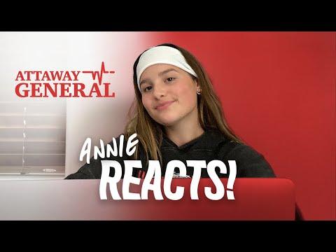 ATTAWAY GENERAL | Annie LeBlanc Reacts