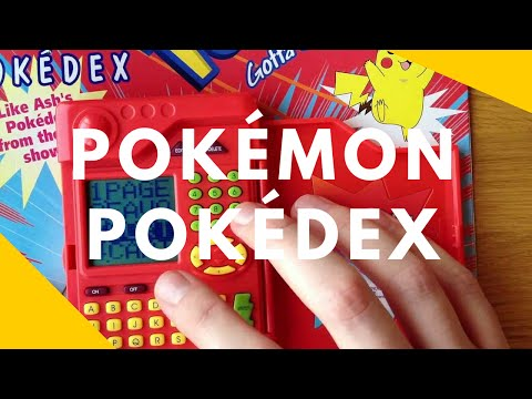 A Look at Pokemon Pokedex from Tiger Electronics