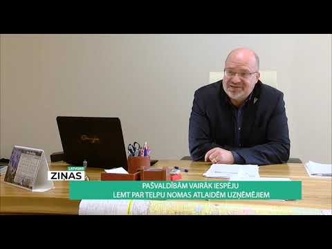 Par telpu nomas maksām uzņēmējiem - skaidrojums un situācija Valkas novadā