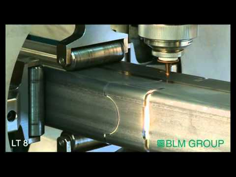 LT8 rect. tube cutting (3D)
