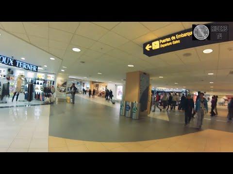 LLegada a Aeropuerto Jorge Chavez, Lima, Peru