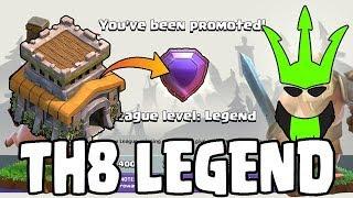 Video TH8 IN LEGENDS LEAGUE! - Hitting Legends Live! - TH8 Push to Legends - Clash of Clans - Episode 30 MP3, 3GP, MP4, WEBM, AVI, FLV Oktober 2017