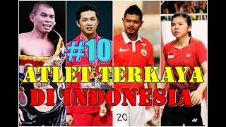 Download Video 10 Atlet terkaya di indonesia 2017/2018 no 6 tidak disangka, Amazing MP3 3GP MP4