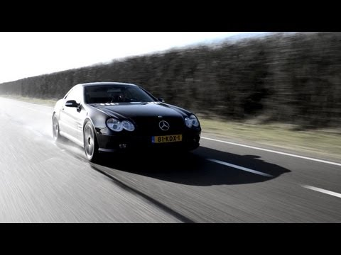 Mercedes Benz SL55 AMG Review - English Subtitled - www hartvoorautos.nl