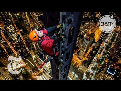 Photographer Climbs Spire of One World Trade Center To Create Breathtaking 360  View of