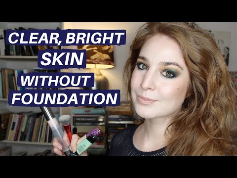 NO FOUNDATION BASE MAKEUP DEMO (COVERING REDNESS & SPOTS) | Hanna… видео
